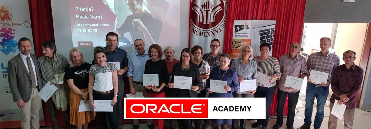 Oracle Academy TK