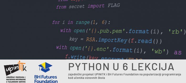 Python u 6 lekcija